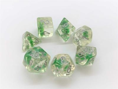 緑の花咲く銀文字