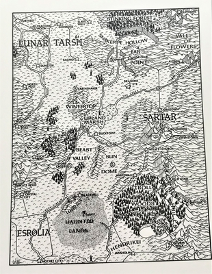 ドラゴンパスの地図