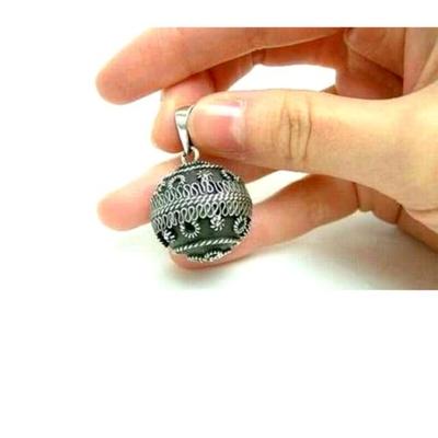【送料無料】螺旋や渦巻のケルティック文様が特長オルゴールボール♪ケルトデザインボール形