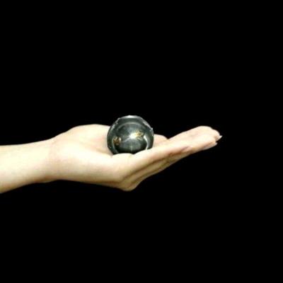 癒しの音色のハーモニー♪オルゴールボールハンドベル月星柄径40mm