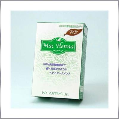 ヘナ100%の安全な毛染めマックヘナ4色展開