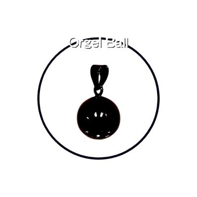 癒しの音色のハーモニー♪オルゴールボールプレーンブラック20