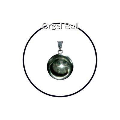 癒しの音色のハーモニー♪オルゴールボールプレーンシルバー20