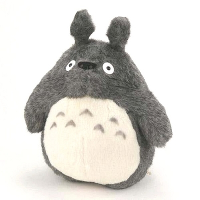 【送料無料】スタジオジブリとなりのトトロの大トトロぬいぐるみエルサイズ濃グレー