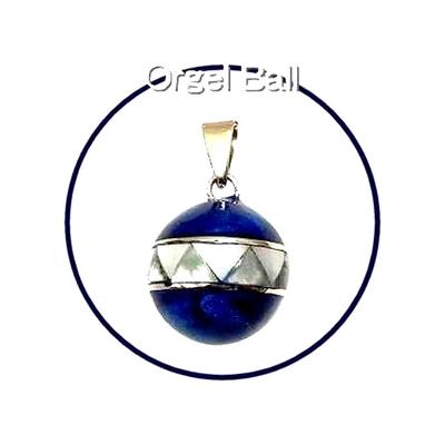 ロングセラー商品癒しの音色のハーモニー♪オルゴールボール貝殻ブルー
