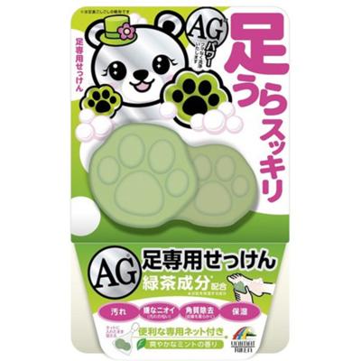 足うらスッキリAG石鹸緑茶成分配合