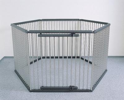 【ペット用品 サークル ハウス】パイプ製ペットサークル(ステンレス) UCS-126