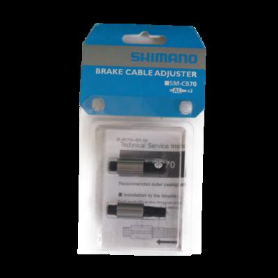 SHIMANO シマノ ブレーキケーブルアジャスター SM-CB70 2個入