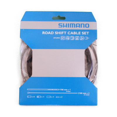 SHIMANO シマノ ロードシフトケーブルセット OT-SP41 ブラック