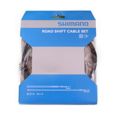 SHIMANO ロードシフトケーブルセット ブラック