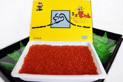 北海道知床沖産「ます醤油いくら500g」