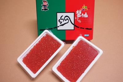 【令和新物】 北海道 知床沖産「鮭醤油いくら 250g×2個(500g)」