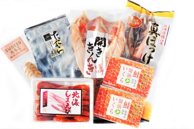 【数量限定】 羅臼海産極セット(6種)