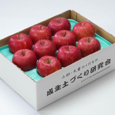 サンふじ 約3kg(8〜12玉)