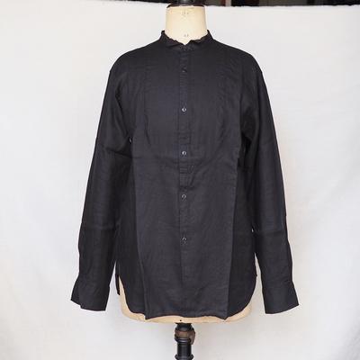 ジャンゴアトゥール リネン プチ ウィングカラー シャツ 2013  frenchblack LLサイズ