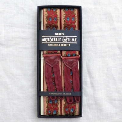 アジャスタブルコスチューム ヴィンテージ テープ クラシック ブレーシズ #ACAS-003