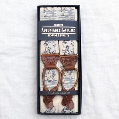 アジャスタブルコスチューム ヴィンテージ テープ クラシック ブレーシズ #ACAS-006