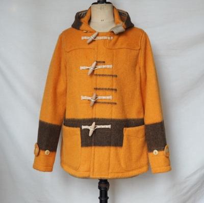 フリーホイーラーズ アストリア コート ORANGE × BROWN