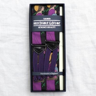 アジャスタブルコスチューム ヴィンテージ テープ クラシック ブレーシズ #ACAS-007 PURPLE VENUS