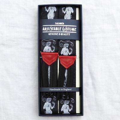 アジャスタブルコスチューム ヴィンテージ テープ クラシック ブレーシズ #ACAS-008
