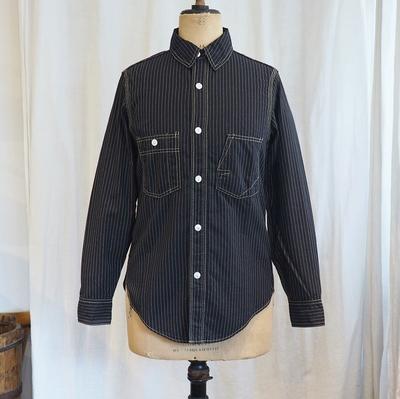 フリーホイーラーズ アイアンオール ワーク シャツ ブラック ウォーバッシュ 14サイズ