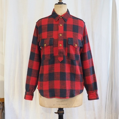 フリーホイーラーズ ストームバーグ バッファローチェック シャツ RED×BLACK