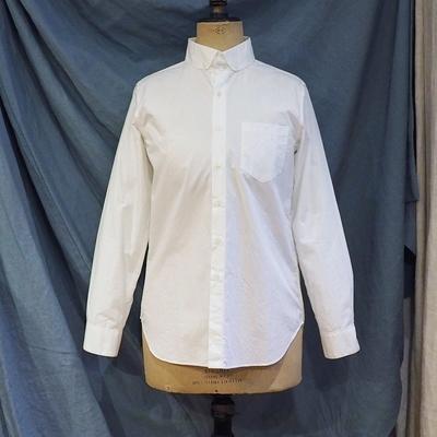 ジャンゴアトゥール DA ラウンドカラー ボタンダウン シャツ  white