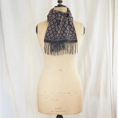 ダッパーズ Cashmink Scarf by V.FRAAS LOT1210 WINE RED(NARIHIRA)