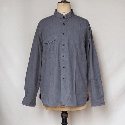 ジャンゴ アトゥール ストラップカバー ワークシャツ ダークグレイ Lサイズ