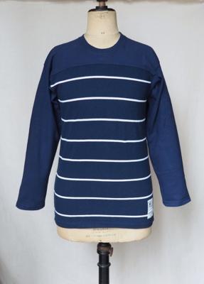 コリンボ ハンティング グッズ バーリントンフラッツ ボーダー Tシャツ ネイビー  Sサイズ