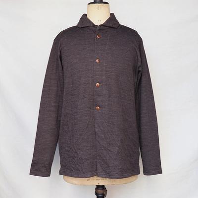 ジャンゴ アトゥール ソフト カーディガン シャツ チャコール     Lサイズ