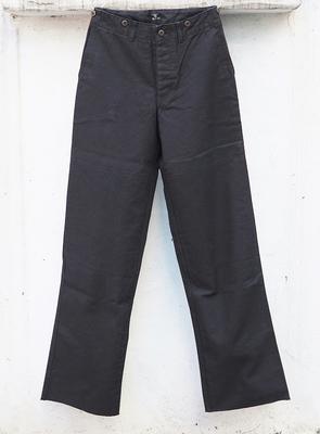 ジャンゴアトゥール サージ ワーク パンツ ブラック Sサイズ