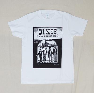 ジャンゴアトゥール 十周年 プリント Tシャツ ミュージック  ホワイト
