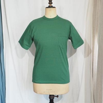 フリーホイーラーズ セットイン スリーブ ポケット Tシャツ ターフグリーン