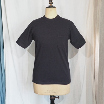 フリーホイーラーズ セットイン スリーブ ポケット Tシャツ シャディブラック