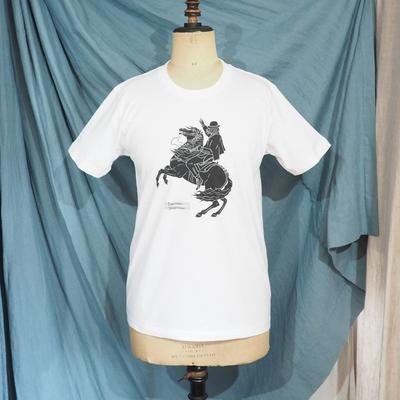 スガダイロー × ジャンゴ アトゥール コラボレーション Tシャツ 2019 ホワイト