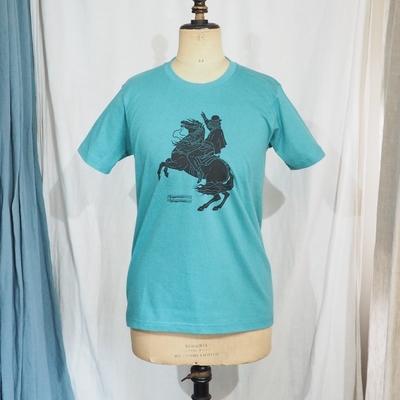 スガダイロー × ジャンゴ アトゥール コラボレーション Tシャツ 2019 ターコイズ
