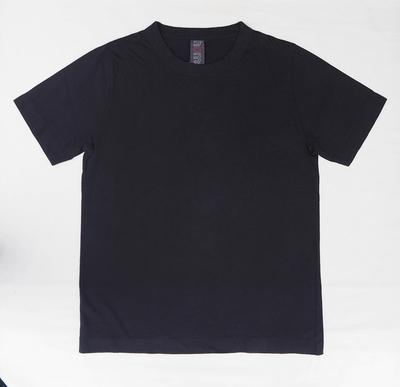 ホームスパン 半袖無地Tシャツ 2013 ブラック