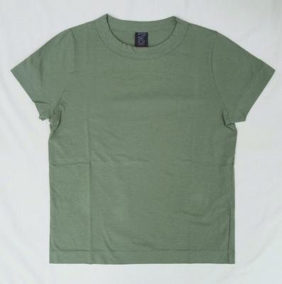 ホームスパン 半袖無地Tシャツ 2017 グリーン
