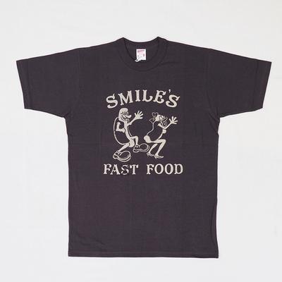 """フリーホイーラーズ Tシャツ      """"SMILES DOG WAGON""""         JET BLACK"""