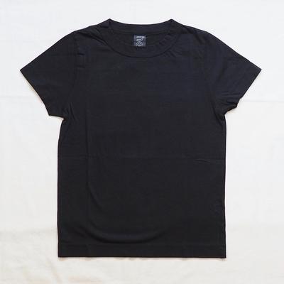 ホームスパン 半袖無地Tシャツ 2017 ブラック
