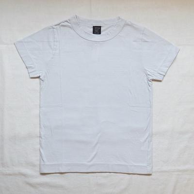 ホームスパン 半袖無地Tシャツ 2018 ライトグレー