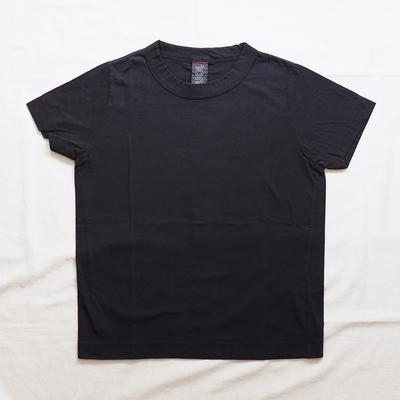 ホームスパン 半袖無地Tシャツ 2019 ブラック