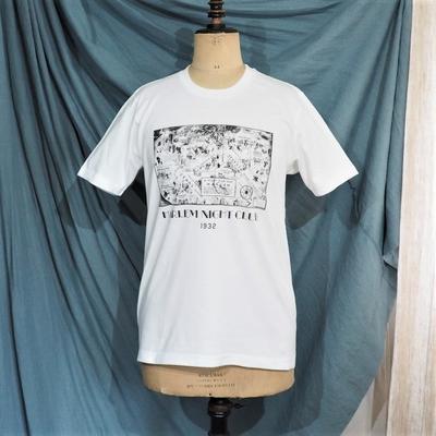 ジャンゴ アトゥール プリントTシャツ H.N.C 1932