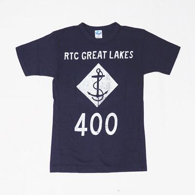 """ジェラード Tシャツ """"RTC GREAT LAKES"""" ネイビー XXSサイズ"""