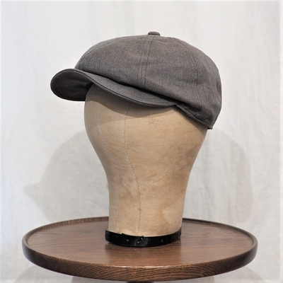 フリーホイーラーズ ディラン 1940s スタイル キャスケット ヴィンテージ ヤーンダイド ツィル ブラウン