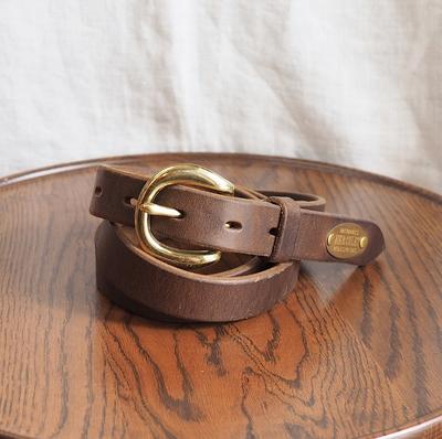 ジェラード ヘラクレス レザー ベルト チョコレートブラウン(24mm幅) XLサイズ