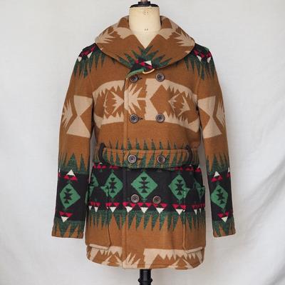 ジェラード × ジョン グラッコー 1910s ブランケット コート  ライトブラウン