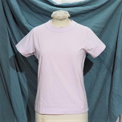ホームスパン 半袖無地Tシャツ 2020 ピンク