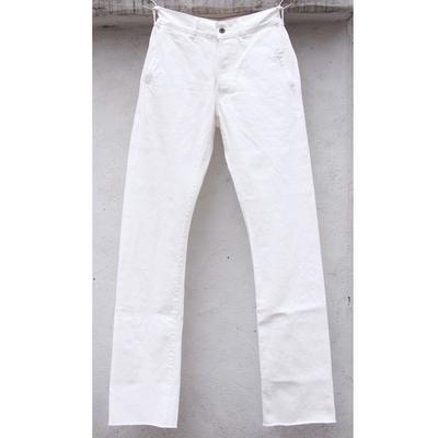 ジャンゴ アトゥール ファクトリー ホワイトデニム パンツ white
